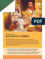 Program per leximin e Bibles