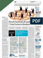 La Repubblica - Piccoli Facebook all'assalto