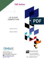 Résultats complets baromètre Cloudwatt - TNS Sofres