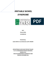 Referat Irritable bowel syndrome
