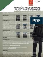 Curso de Orientación Profesional para Artistas Visuales