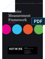 Hotwire Measurement Framework White Paper