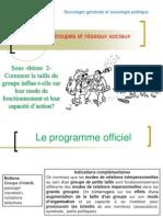 Thème- Comment la taille du groupe influe-telle sur leur fonctionnement et leur capacité d'action 2012-2013