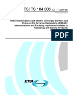 ETSI TS 184 006 - NAR Interconnect