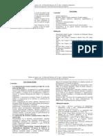 Contenidos y Cronograma 2011
