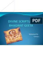 (Bs) Final Ppt of Bhagwat Geeta