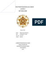 Cover Laporan Praktikum Biologi Umum