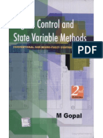 Digital Control and State Variable Methods by M Gopal
