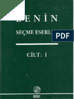 Lenin Secme Eserler C-1