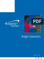 Angel Investors Blue Paper by promotional products retailer 4imprint