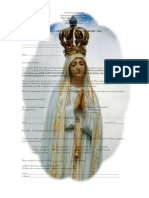 2.Our Lady of Fatima