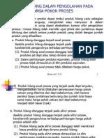 Produk Hilang (HP Proses)