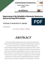 Reliability Improvement....