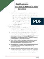 Global Governance ( the Whole Summary )