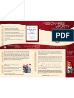 Missionary Candidate Brochure 2012