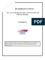 Texas Future Mobility Report Oct 2012