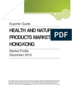 Health and Natural Products in Hong Kong December 2010