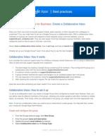 Create a collaborative inbox