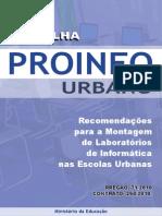 Cartilha Proinfo Urbano 2011