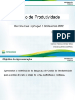 """PETROBRAS Gestão_de_produtividade. """"A busca da Produtividade"""" CE-EPC na Rio Oil e Gás 2012"""