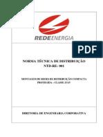 Ntd Re 001 Rede Compacta Cemat