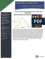 Multicolor Liquid Crystal Nanoparticles as Efficient Biomarkers