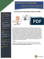 Immunobead Force Discrimination Biosensor (FDB)