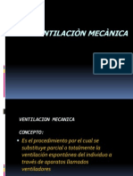 VENTILACION MECANICA ENFERM