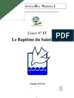 Claude Payan - Le Baptême du Saint-Esprit