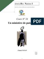 Claude Payan - Un ministère de puissance