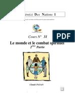 Claude Payan - Le Monde Et Le Combat Spirituel 2