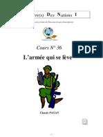 Claude Payan - L'armée qui se lève