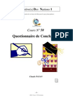 Claude Payan - Conclusion