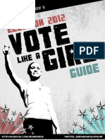 Vote Like a Girl Guide