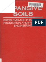 Expansive Soils, Problems and Practice in Foundation and Pavement Engineering