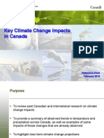 Key Climate Change Impacts - 2012 02 17