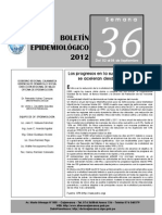 BOLETIN EPIDEMIOLOGICO36
