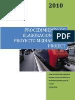 10-Procedimiento de Elaboracion de Una Programacion de Obras