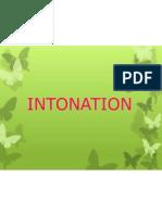 Intonation
