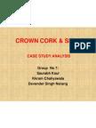 Crown Cork Case Study Analysis