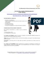 ADM 321 - Mejoramiento de Relaciones Interpersonales y Clima Laboral