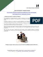 ADM 322 - Trabajo en Equipo y Productividad