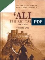 Ali Ibn Abi Talib Volume 1 (by Dr. Ali. M. Sallabi)