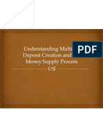 Understanding Multiple Deposit Creation and the Money Supply
