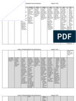 Grade 1 CCLS Writing Standards Map