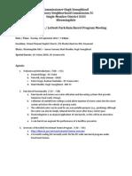 Rain Barrel Program Meeting Minutes_Bloomingdale-LeDroit Park _18Sept2012