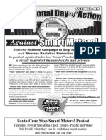 International Day of Action against Smartmeters