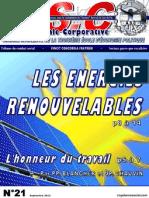ASC N°21 - Les énergies renouvelables