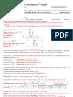Função quadrática -(Passo a passo)