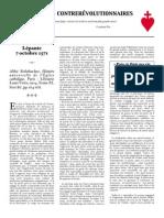 Documents Contre-révolutionnaires -1
